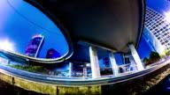 Futuristic city panning timelapse VETTA