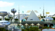 Futuristic city (HDTV version)