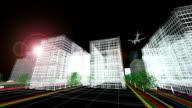 Futuristische Stadt (Full HD)