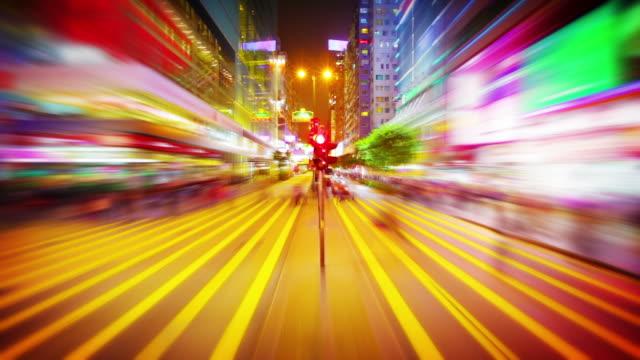 Futuristic crossroad