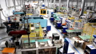 Futuristic factory