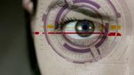 Futuristico Cyborg femminile