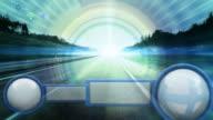 futuristic GPS concept HD