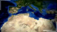 Futuristic Satellite Image View Of Algiers