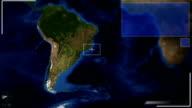 Futuristic Satellite Image View Of Buenos Aires