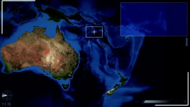 Futuristische Satelliten-Ansicht von Canberra