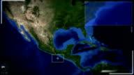 Futuristic Satellite Image View Of mexicocity