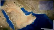 Futuristic Satellite Image View Of Riyadh