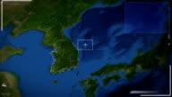 Futuristic Satellite Image View Of Seoul
