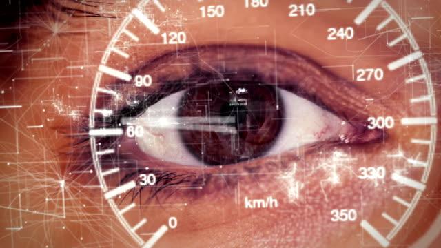futuristic smart glasses run