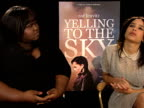 Gabourey Sidibe Zoe Kravitz on experiencing racism and discrimination growing up and how it influenced her taking the role at the Yelling to the Sky...