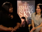 Gabourey Sidibe Zoe Kravitz on the buzz around the film on working with the director Victoria Mahoney at the Yelling to the Sky Interviews 61st...
