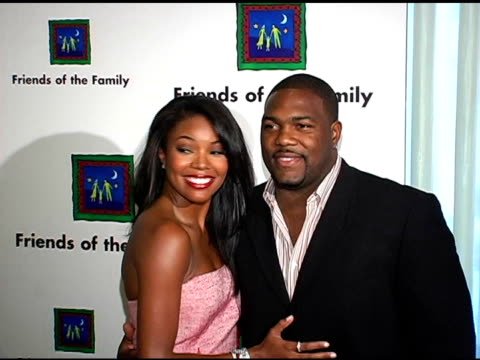 Gabrielle Union and husband at the Families Matter Benefit and Celebration at the Regent Beverly Wilshire Hotel in Beverly Hills California on June 3...