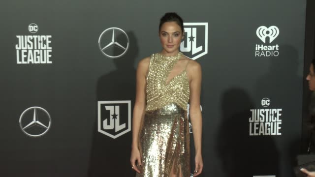 Gal Gadot at the 'Justice League' World Premiere at Dolby Theatre on November 13 2017 in Hollywood California