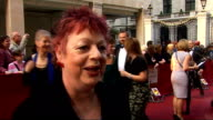 Galaxy British Book Awards 2009 Jo Brand interview SOT on the event and Barack Obama on writing her own book on wishing people would read more Jo...