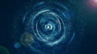 Galaxy, Nebula Space Background.