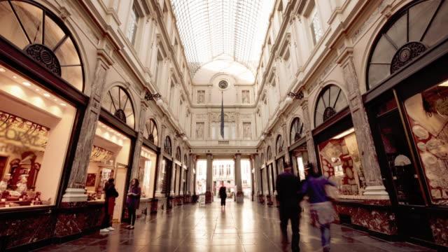 Galeries Royales Saint-Hubert, Brüssel, Belgien