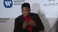 Gallant at Warner Music Group Grammy Party in Los Angeles CA
