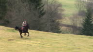 HD: Galloping On A Meadow