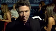'Game of Thrones' season 6 world premiere takes place in Hollywood California Interview with actor Aidan Gillen who portrays Petyr Baelish