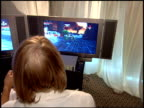 Gameplay at the XBox 360 at the Extra Emmy Lounge at the Le Merridien Hotel in Beverly Hills California on September 15 2005
