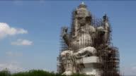 Ganesha under construction in Thailand Timelaps