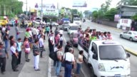 Gangs have shot dead five bus drivers in El Salvador since Sunday during a transport strike over the lack of security in the violence plagued country