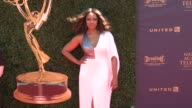 Garcelle Beauvais at the 44th Annual Daytime Emmy Awards at Pasadena Civic Auditorium on April 30 2017 in Pasadena California