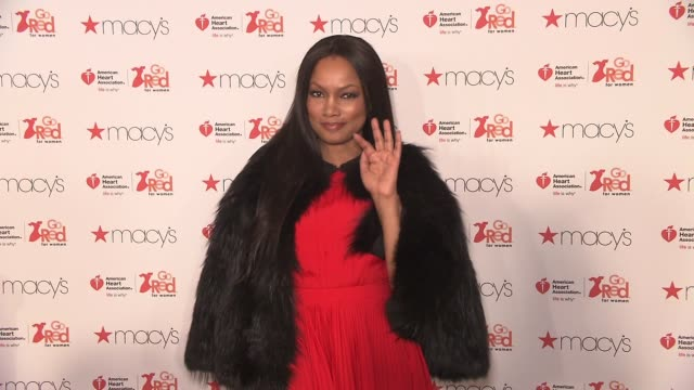 Garcelle Beauvais at The American Heart Association's Go Red For Women Red Dress Collection 2017 Presented By Macy's at Hammerstein Ballroom on...