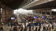 Gare du Nord railway station in Paris, France.