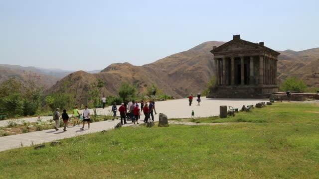 Garni, view of the Greek temple, 3rd century B.C.