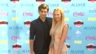 Garrett Clayton Claudia Lee at 2013 Teen Choice Awards Arrivals on 8/11/2013 in Universal City CA