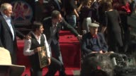 Garry Marshall John Stamos Bob Saget and Jack Klugman at the John Stamos Honored with a Star on the Hollywood Walk of Fame at Hollywood CA