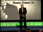 Garry Shandling on Robert Downey Jr