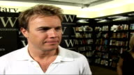 Gary Barlow fans at book signing and interview Gary Barlow interview SOT There were bits of the book that were really nice to write and get out of my...