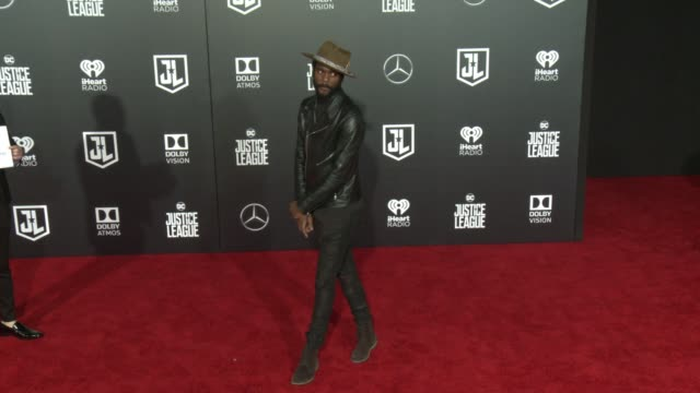 Gary Clark Jr at the 'Justice League' World Premiere at Dolby Theatre on November 13 2017 in Hollywood California