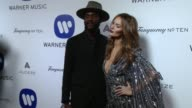 Gary Clark Jr Nicole Trunfio at Warner Music Group Grammy After Party 2016 in Los Angeles CA