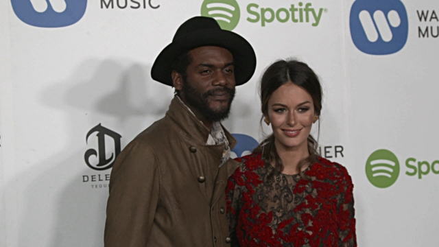 Gary Clark Jr Nicole Trunfio at Warner Music Group Hosts Annual Grammy Celebration in Los Angeles CA