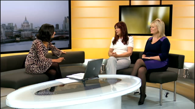 Gary McKinnon extradition threat lifted ENGLAND London GIR INT Janis Sharp and Karen Todner studio interview SOT