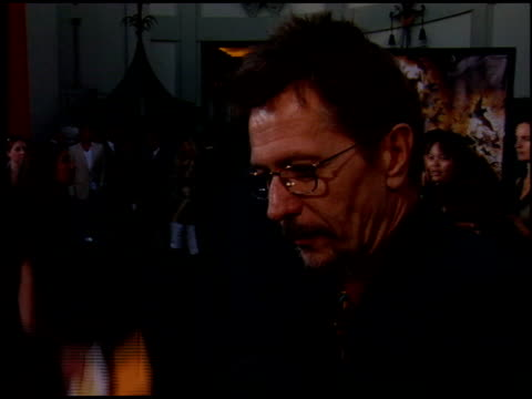 Gary Oldman at the 'Batman Begins' Premiere at Grauman's Chinese Theatre in Hollywood California on June 6 2005