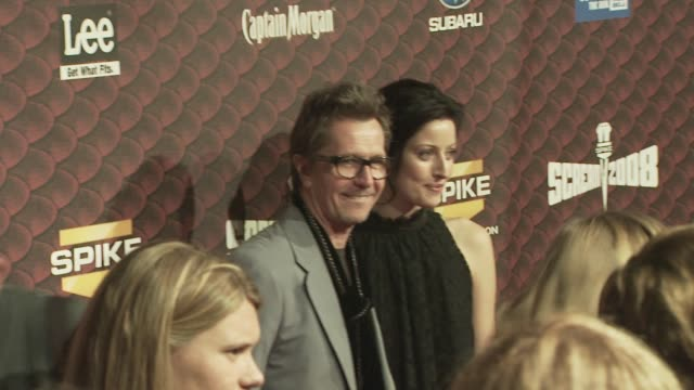 Gary Oldman at the Spike TV's SCREAM 2008 at Los Angeles CA