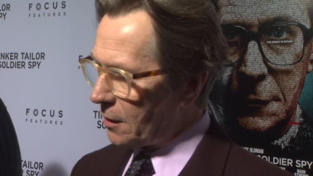 Gary Oldman at Tinker Tailor Soldier Spy Red Carpet on 12/6/2011 in Hollywood CA
