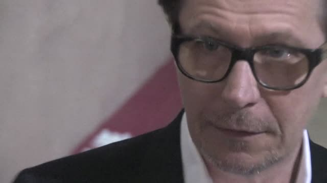 Gary Oldman meets fans in Hollywood 02/02/12