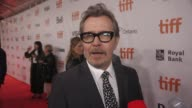 INTERVIEW Gary Oldman on his biggest challenge of playing Winston Churchill and why his leadership is needed right now at the 'Darkest Hour' Premiere...