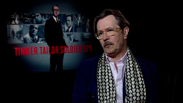 Gary Oldman on his career at the Tinker Tailor Soldier Spy Interviews at London England