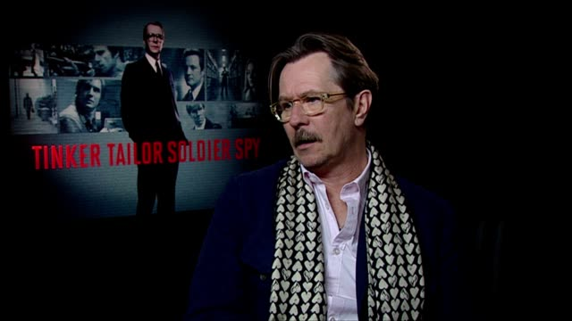 Gary Oldman on how he got into acting Malcolm McDowell being an inspiration at the Tinker Tailor Soldier Spy Interviews at London England
