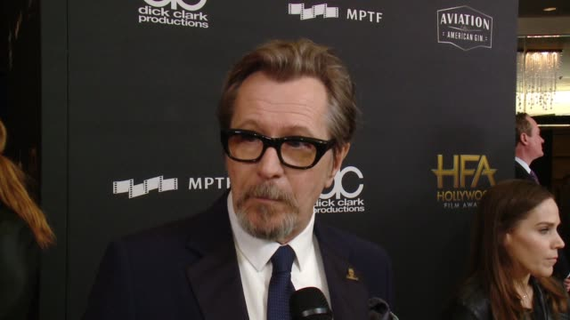 INTERVIEW Gary Oldman on how special is tonight as Hollywood comes together in one of the first ceremonies of the season to recognize great...