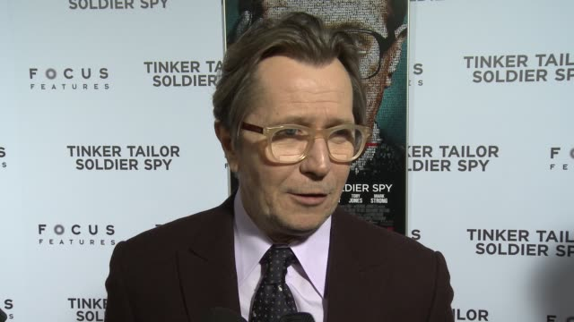Gary Oldman on the book and being familiar with the book and his character before working on the film on his character being more about control and...