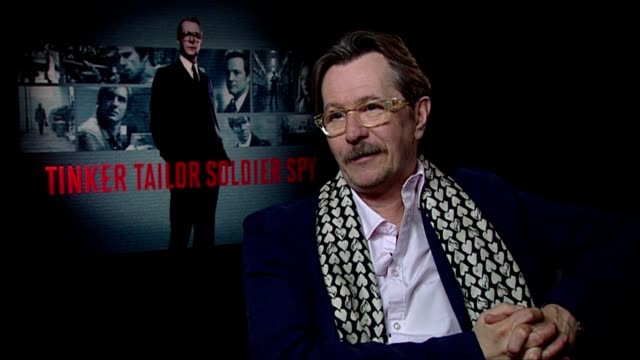 Gary Oldman on the pace and approach to the film at the Tinker Tailor Soldier Spy Interviews at London England