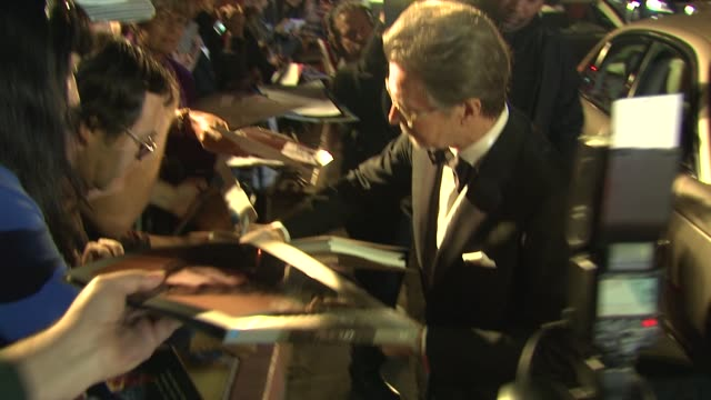 Gary Oldman signs autographs at the 25th Annual Palm Springs International Film Festival Awards Gala Presented By Cartier in Palm Springs CA on...